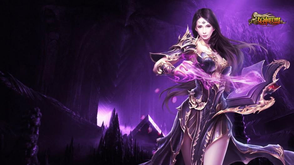 女神联盟游戏美女角色人物原画第1张