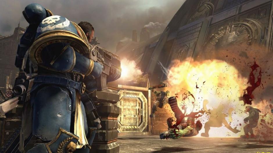 《战锤40K:星际战士》游戏战斗界面图片第1张