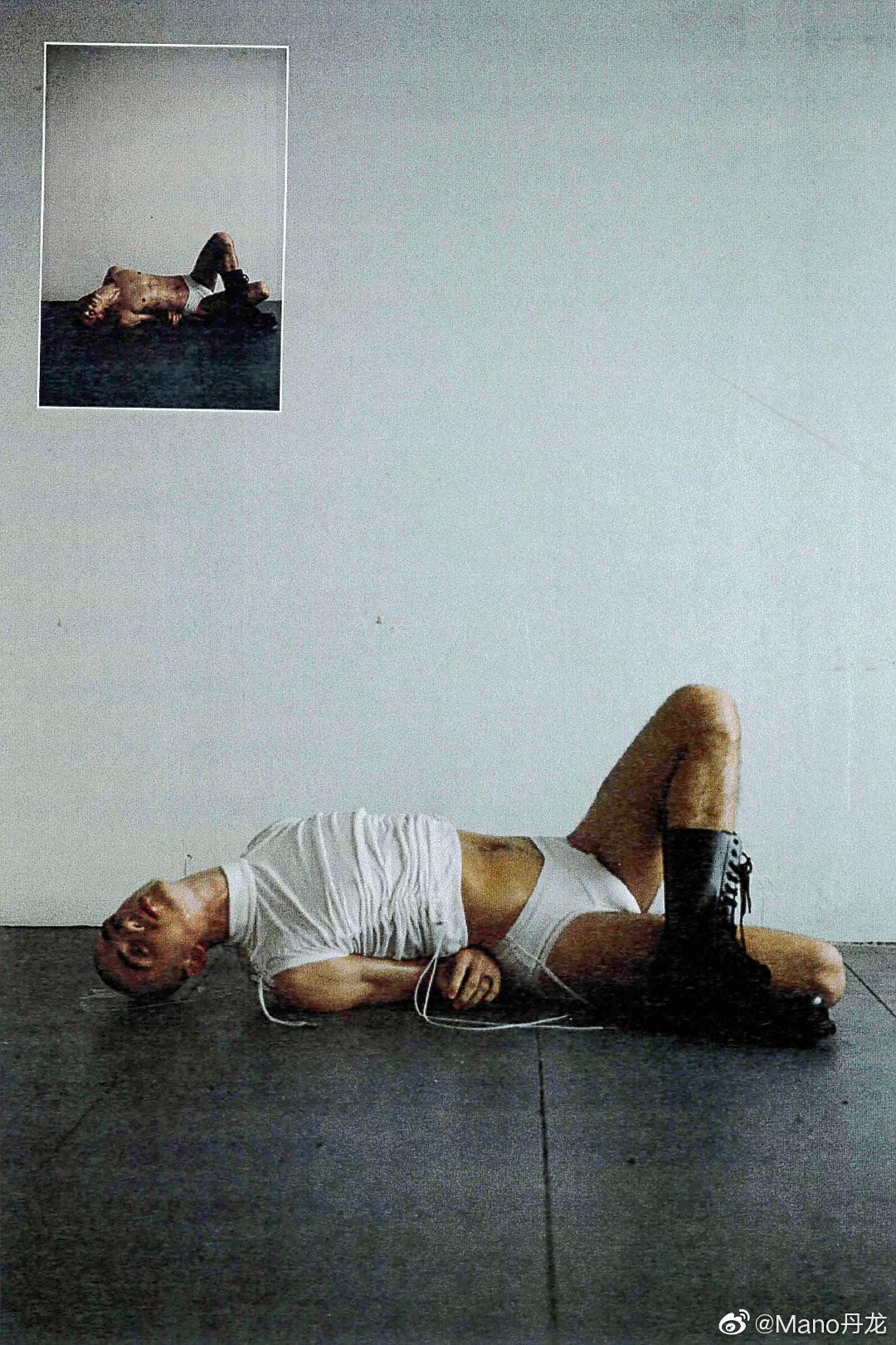 90后欧美鲜肉男模男体艺术摄影写真照片第1张