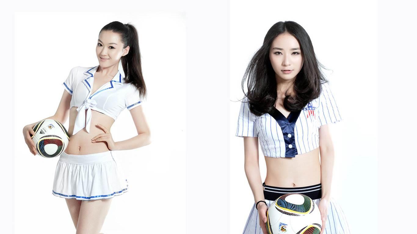 2012伦敦奥运会足球宝贝 模特美女,美腿美女,白皙美女图片第1张