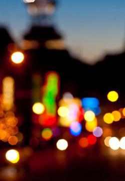[风景图片]唯美意境都市夜景图片