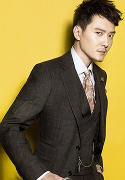 明星图片冯绍峰西装帅气写真